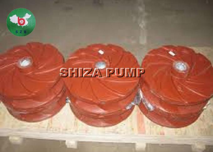 Single Stage Chemical  Pump Parts Throatbush  Rubber / Metal Liner Inclued