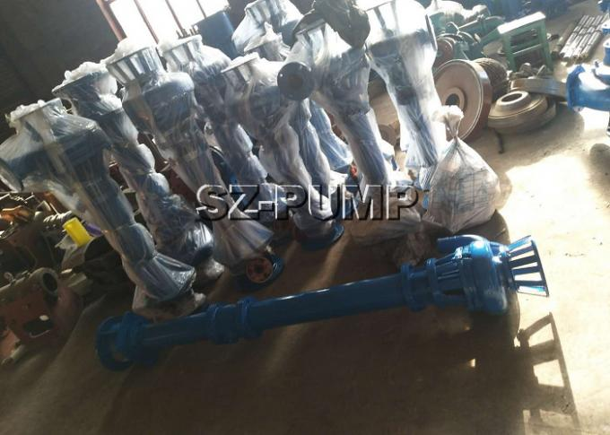 Mining Sludge Industrial Vertical Submerged Pump With Packing Seal 11 - 200kw