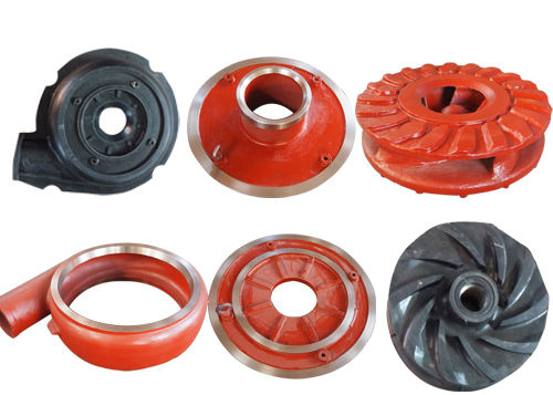A49 High Chrome Slurry Pump Parts , Volute Liner 50ZJ Suitable