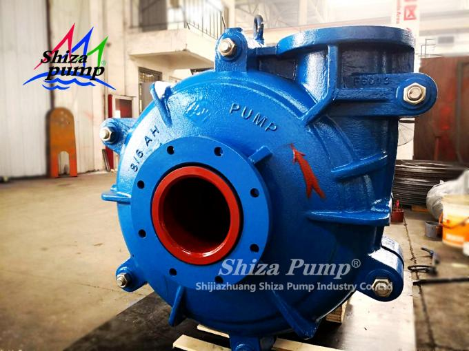 6 Inch Diesel Engine Driven Centrifugal Pump Heavy Duty With Closed Type Impeller