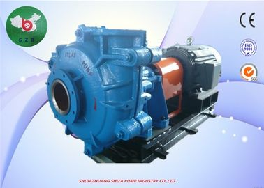 Middle Pressure AH Slurry Pump Natural Rubber Lined Anti - Abrasive For Mining