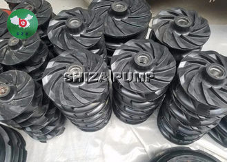 China Slurry Pump Ductile Iron Frame Plate Liner  By Natural Rubber E4013 6 / 4 Inch supplier