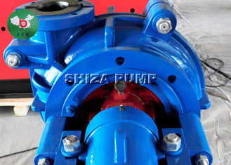 China Large Capacity Rubber Lined Slurry Pumps , Sand Acid Handling Pump With Engine supplier