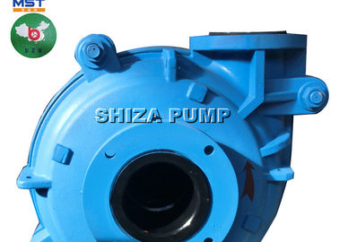 China Centrifugal Cover Plate Liner Rubber Lined Slurry Pump Gear Reducer Driven supplier