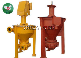 China Flotation Area Froth Pump , Vertical Mineral Processing Coal Mine Foam Transfer Pump supplier