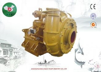 Diesel Engine Dredge Pump With Gearbox, WN High Chrome Large Dredge Booster Pump