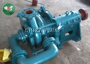 China Metal Liner Fly Ash Low Suction Head Centrifugal Slurry Pump With Electric Motor factory