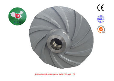 China High Chrome Casting Slurry Pump Parts , FAM8147 A05 Metal Centrifugal Pump Impeller supplier