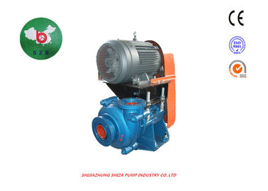 China High Chrome Slurry Pump With Large Diameter Shaft Chemical Water Treatment supplier