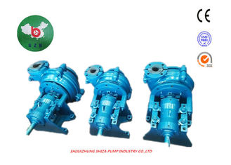 China AH Rubber Lined Slurry Pumps , Metal Liners Diesel Driven Water Pumps 4/3C-AH supplier