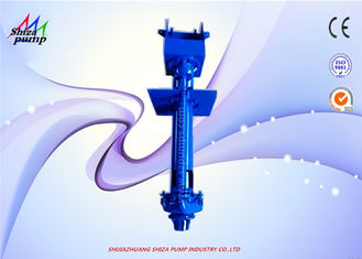 China Abrasion - Resistant Vertical Centrifugal Slurry Pump For Delivering Large Particle supplier