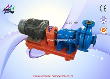China Horizontal Single Stage AH Slurry Pump Mechanical Seal Grease / Oil Lubrication supplier