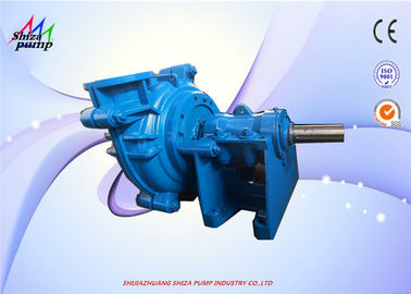 China Rubber Liner Slurry Water Pump For Corrosive Slurry / Mining 5 Closed Vans Impeller supplier