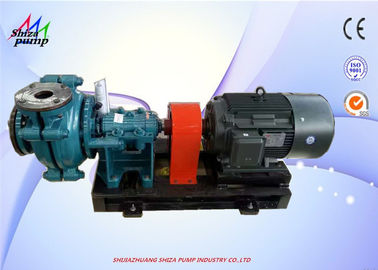 China High Chrome Alloy 4 / 3 C - AH Horizontal Slurry Pump For Mineral Processing supplier