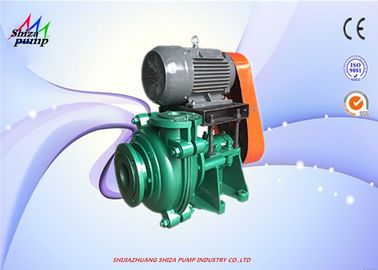 China 4 / 3 C - AH Metal Lined Centrifugal Slurry Pump For Transporting Ore Liquid supplier