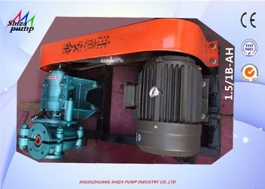 China 1.5 / 1 B - AH Metal Lined Centrifugal Slurry Pump For Transporting Sand and Gravel supplier
