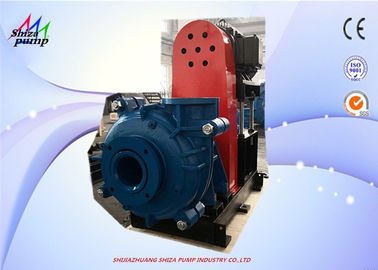 China Metal Liner High Chrome Slurry Pump For Heavy Duty With Discharge Suction 6 Inch supplier