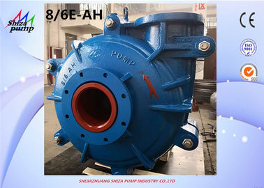 China 8 / 6E - AH Copper Mine AH Slurry Pump , Dry Sand Pump With 8 Inch Inlet supplier