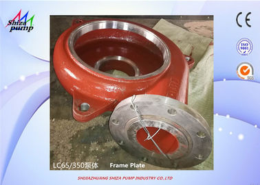 China Slurry Pump Spare Parts Metal Frame Plate factory