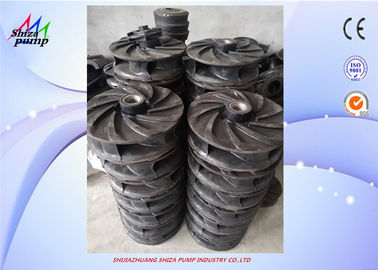 China Slurry Pump Impeller  By Natural Rubber ,Wear-resistant, Impact-resistant, Anti-aging factory