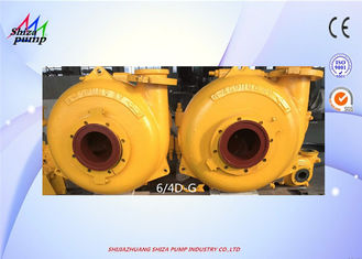 China 6 / 4 D - G Dredging Sand Gravel Pump , Large Capacity Sand Pump supplier