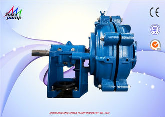 China 8 / 6 E-AH Wear Resistant Centrifugal Slurry Pump With Metal Replaceable Liners supplier