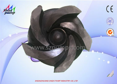 China Rubber Slurry Pump Lining Rubber Impeller Used For Metal ,  Nonmetal Mining supplier