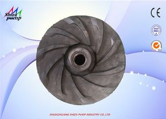 China 6 / 4E - AHR Rubber Impeller For Transport High Concentration Slurry factory