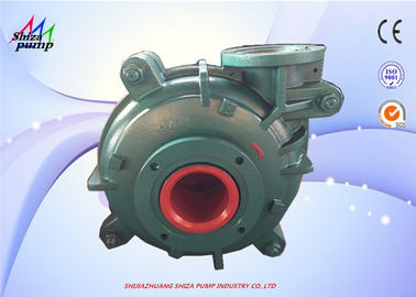 China Metal Liner High Chrome Slurry Pump With Discharge 4 Inch / Suction 6 Inch supplier