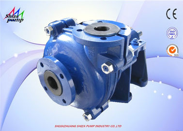 China Centrifugal Rubber Lined Pumps Horizontal Impeller For Mineral Processing supplier