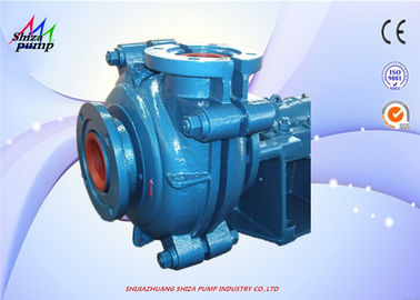 China High Chrome Anti-Corrosion Heavy Duty Slurry Pump With 2 - 6 Blades Impeller supplier