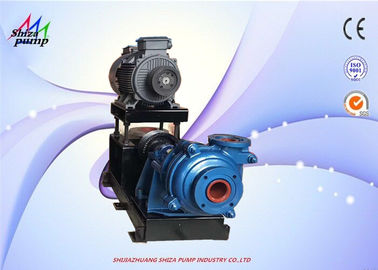 China 3 Inch Electric High Pressure Slurry Pump With Interchange Replaceable Parts supplier