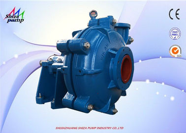 China High Capacity Horizontal Centrifugal Slurry Pump Wear Resistant For Electric Power supplier