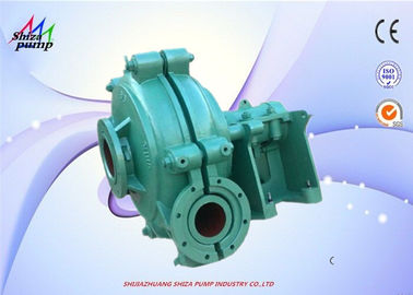 China 6 / 4 E - AH Sand Heavy Duty Diesel Engine Driven Centrifugal Pump For Dredging factory