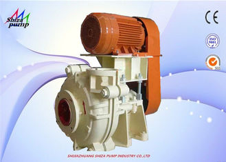 China Coarse Sand Handling AH Slurry Pump ,Mine Rubber Lined Centrifugal Pump supplier