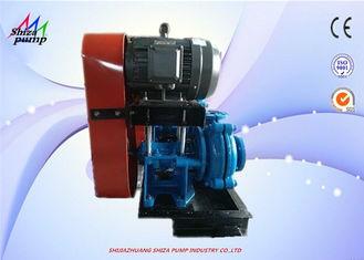 China Open Impeller Type AH Slurry Pump , Single Suction Centrifugal Pump For Tailings factory