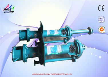 China Mining Vertical Submerged Pump For Mining Process 65QV-SPR Metal / Rubber Liner supplier