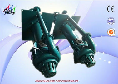 China Acid 100RV-SPR Industrial Vertical Sump Pumps With Motor And Closed Impeller supplier