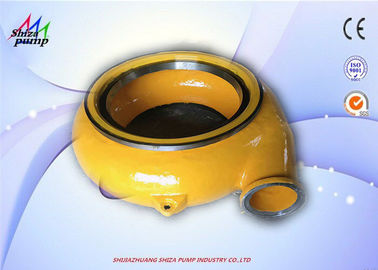 China 8/6E-G(H) Strong Corrosion Resistance Alloy Slurry Pump Volute / Gravel Pump Volute supplier