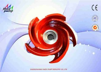 China 2PNL Pump High Chrome Casting Impeller , Five Vanes Half Open Mud Pump Parts supplier