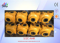 Anti - Corrosion gravel Slurry Pump Rubber Liner Open Impeller Type 3 / 2 C - AHR