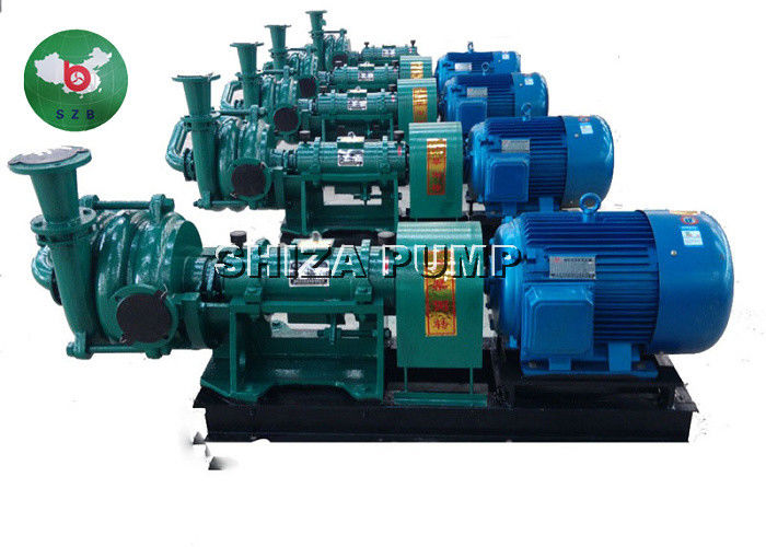 Single Stage Single Suction Filter Press Feed Pump , High Chrome Mud Slurry Pump supplier