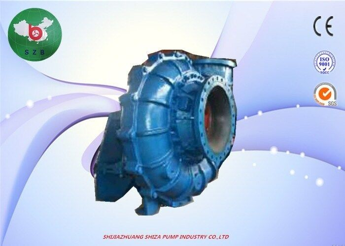 Diesel Engine Dredge Pump With Gearbox, WN High Chrome Large
