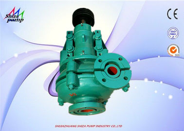 China Metal Liner  Heavy Duty Slurry Pump 2 Inch Discharge Single Stage For Ore Mining factory