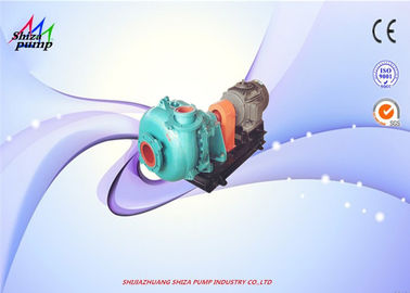 China 76mm Out Dia 4 / 3 C - AH Centrifugal Heavy Duty Slurry Pump Diesel / Electric Fuel distributor