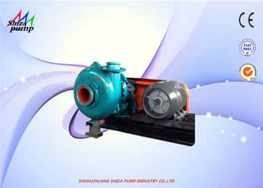 China 76mm Out Dia CR Driving Type 4 / 3 C - AH Centrifugal Heavy Duty Slurry Pump Diesel / Electric Fuel distributor
